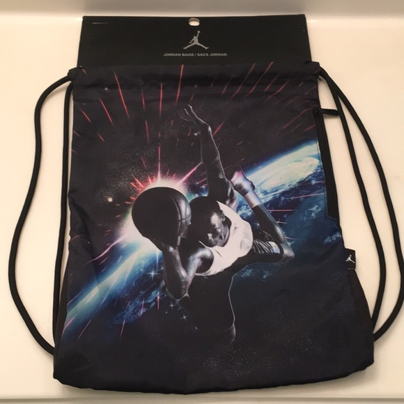 6137356c1e2 Jordan Bags | Photo Reel Gymsack Sackpack Backpack | Poshmark